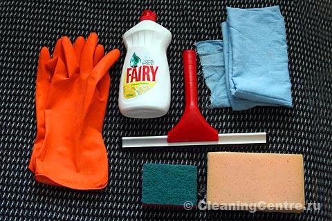 Что понадобится для мытья окон?